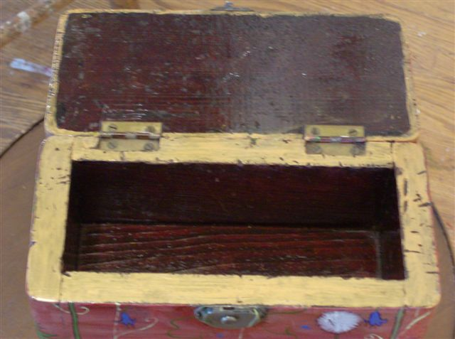 """Wooden Box 2008, 9"""" x 4.5"""" x 4.5"""" Sold"""