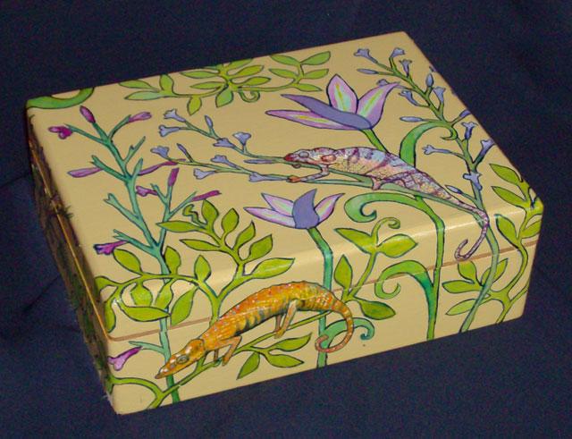 Chameleon Jewelry Box (2008) Sold