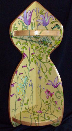 """Chameleon Shelf 2008, 22"""" Sold"""