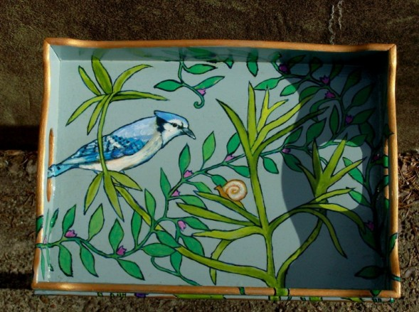 Child's Bluejay Tray & Chair 2007 Sold