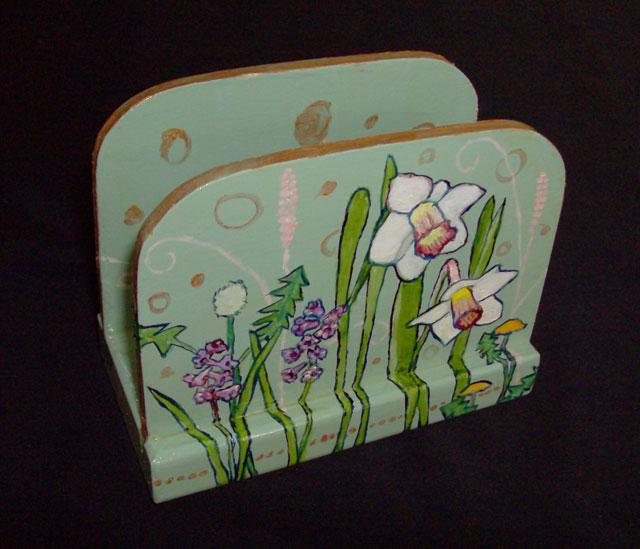 Daffodil Napkin Holder 2008 Sold