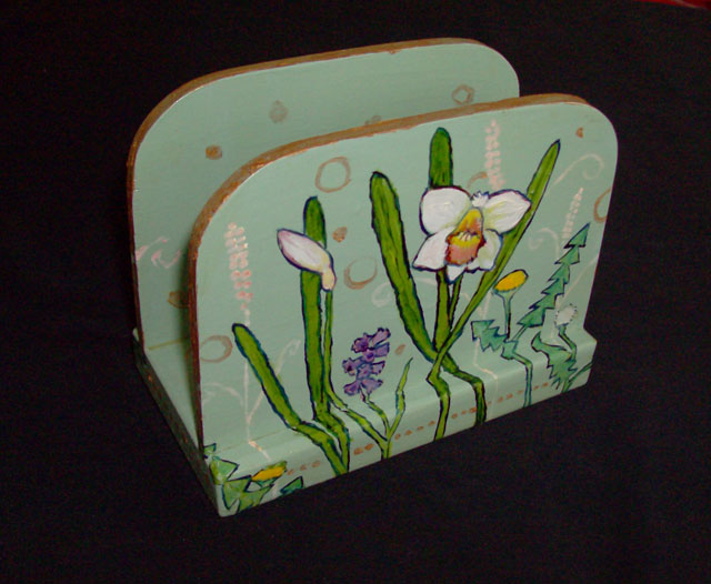 Daffodil Napkin Holder 2008 Sold