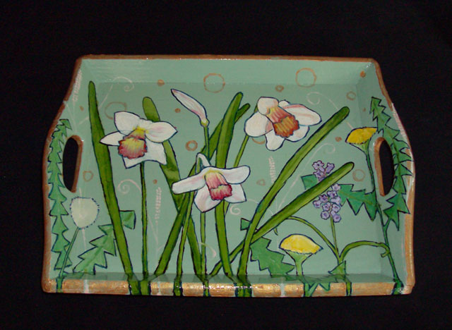 Daffodil Tray 2008 Sold