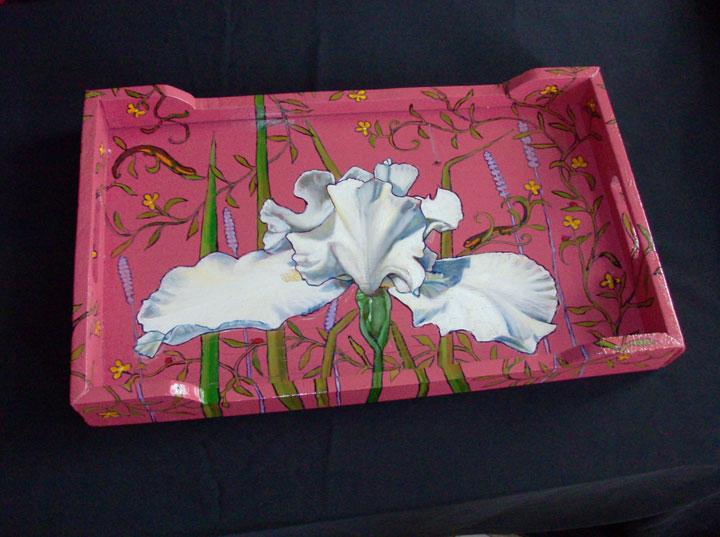 Iris Tray 2008 Sold