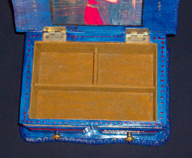Jewelry Box With Thai Dancers Sold
