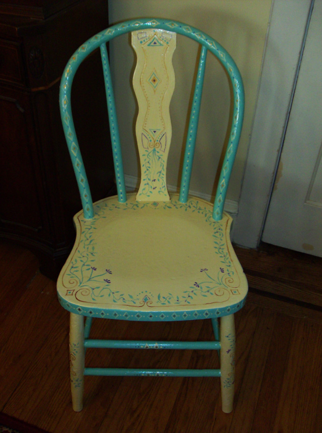 Kathy's Kitchen Chair (2010)