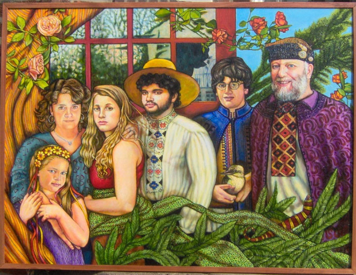 "Family Portrait (2006, 48"" x 36"")"