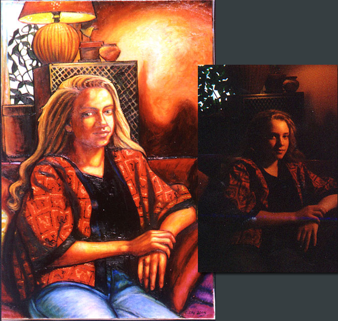 "Hannah #1 (2004, 23"" x 36"")"