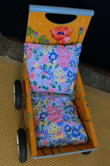 "Poppy Doll's Buggy 23"" x 20"" 11.5"" $160"