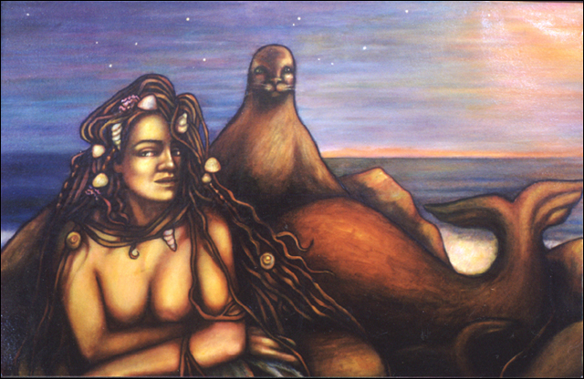 The Selkie (detail)