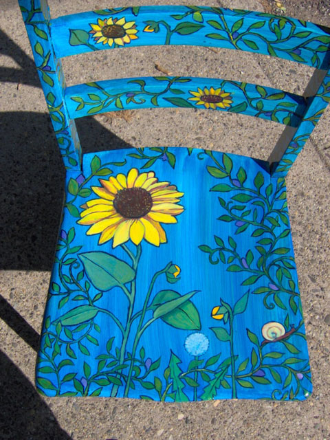 Two Sunflower Chairs (detail)