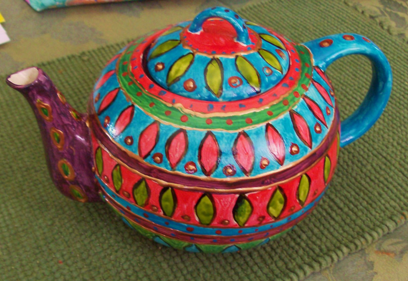 Tea Pot (2011) Sold