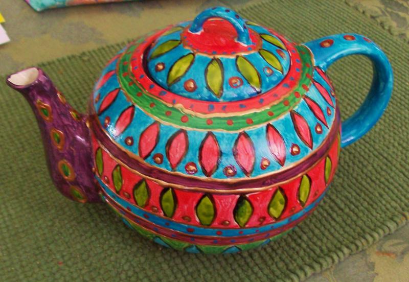 Tea Pot (2011) Sold
