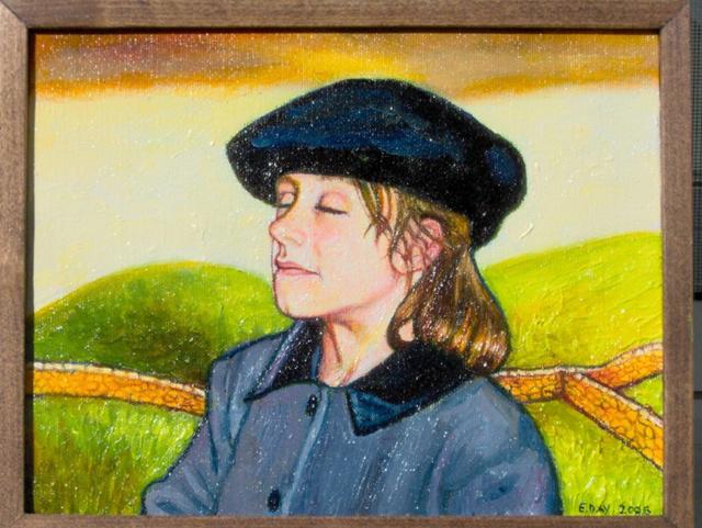"In Ireland (2006, 9"" x 7"") Sold"