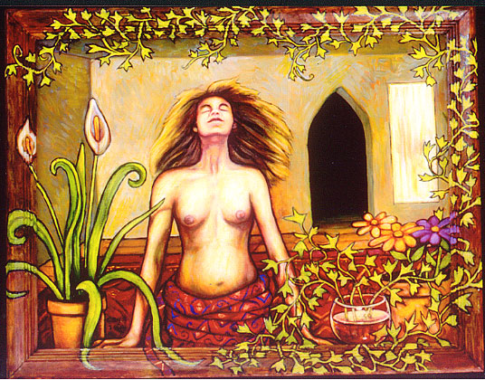 "A Fresh Breeze (2004, 26"" x 20.5"") Sold"