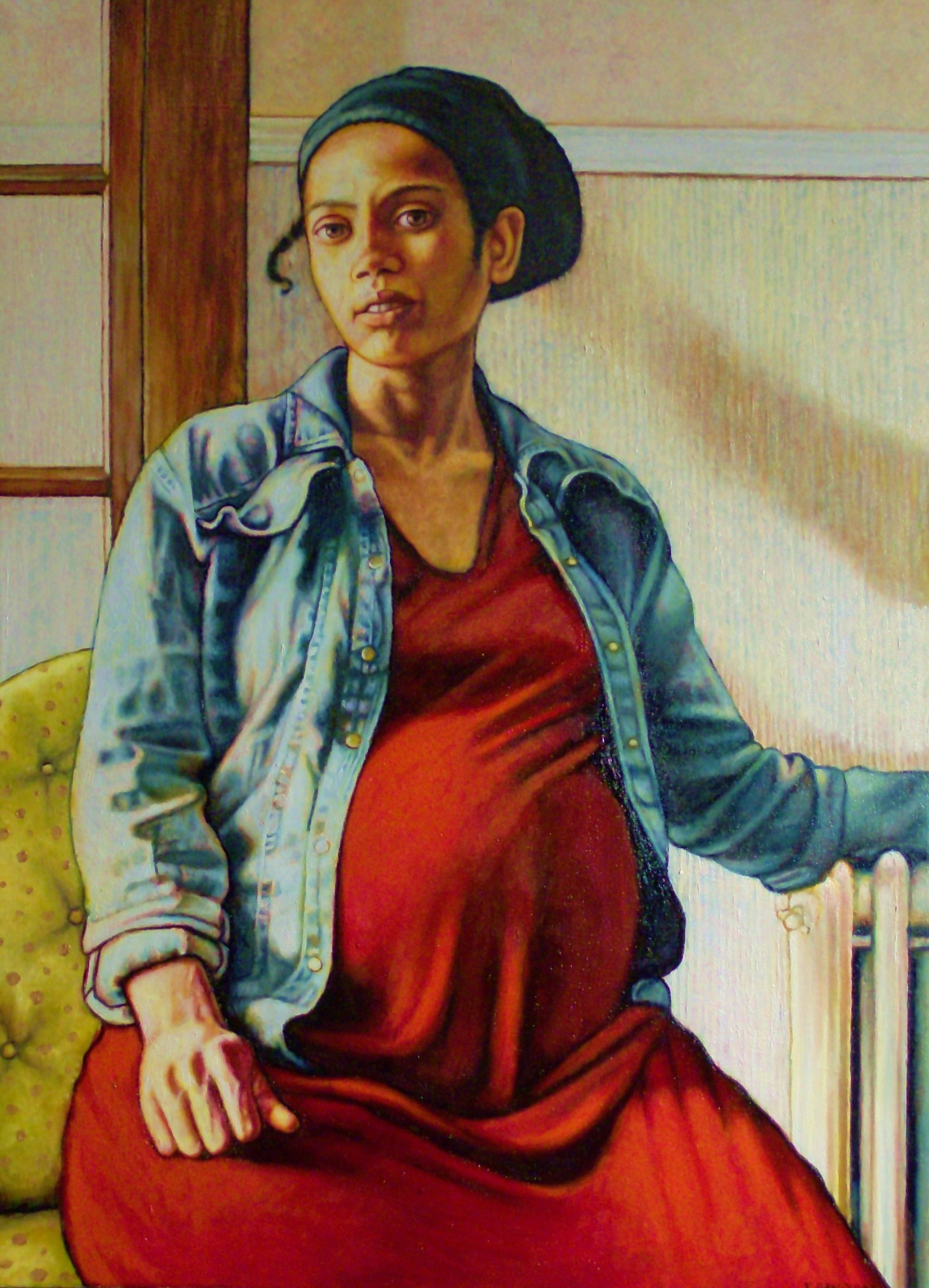 "Mother (2009, 24"" x 26"") Sold"