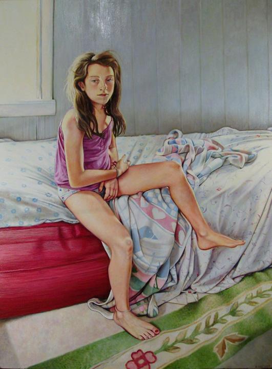 """Summer Morning (2012, 36"""" x 48"""") Sold"""